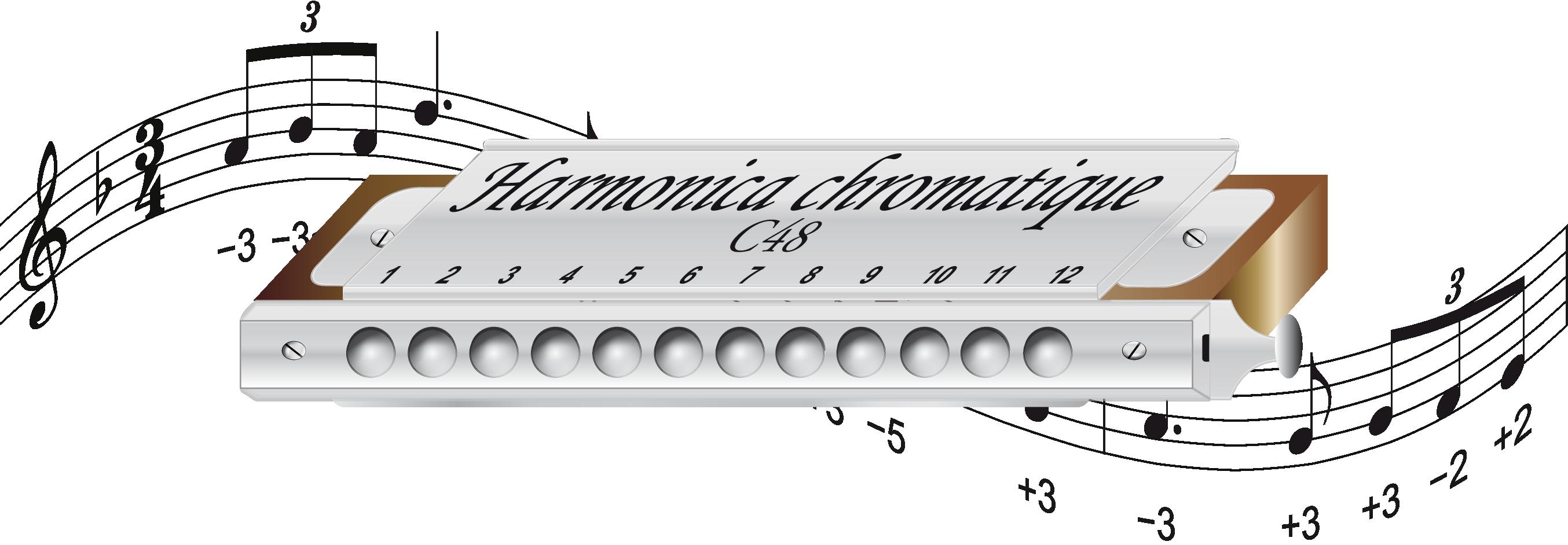 Harmonica Chromatique